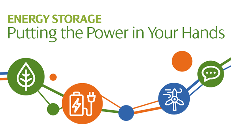 Energy Storage - Putting the Power in Your Hands